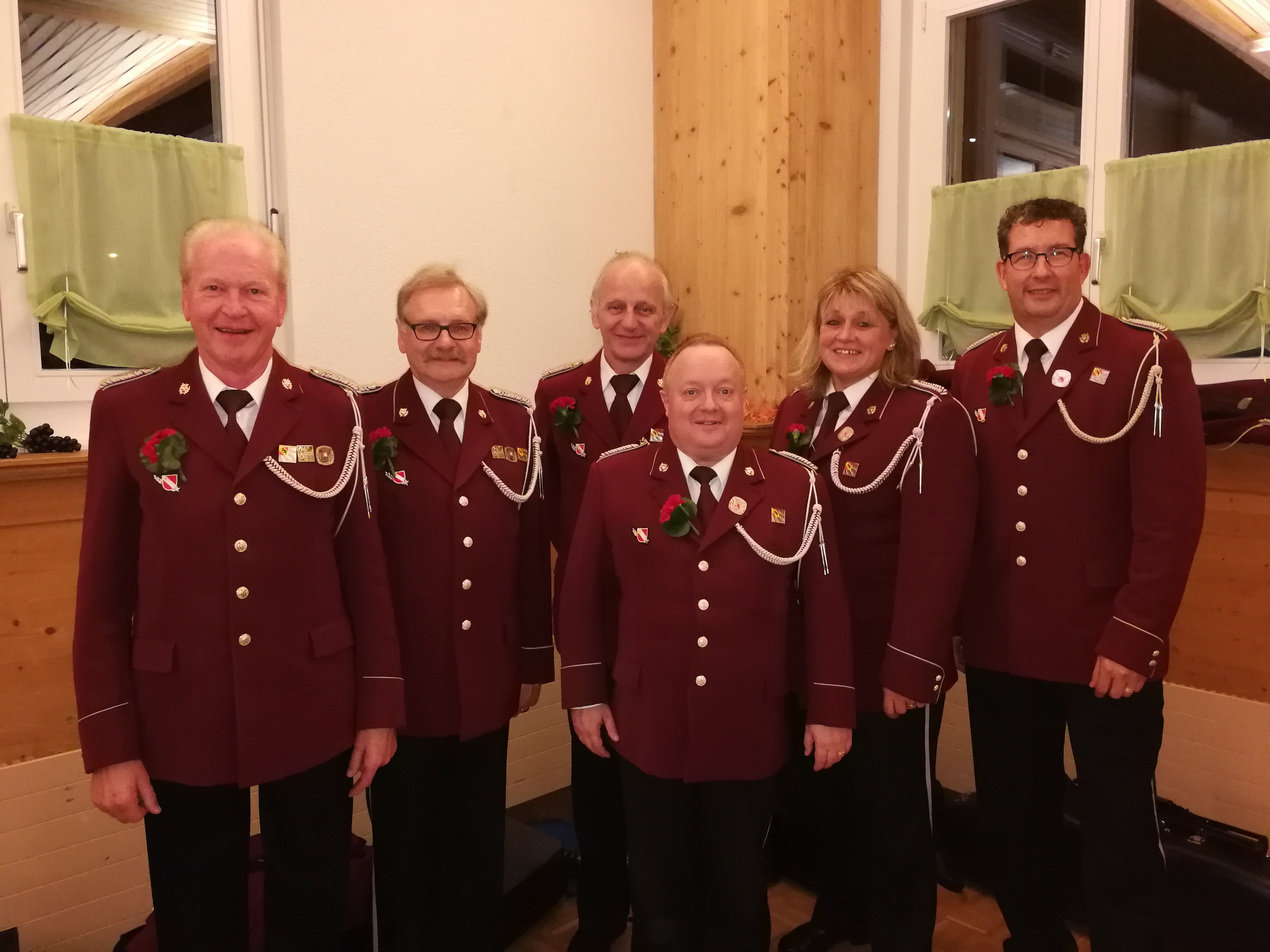 Sechs neue Veteranen